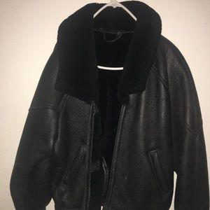 NEW Custom black sheep leather jacket🥰